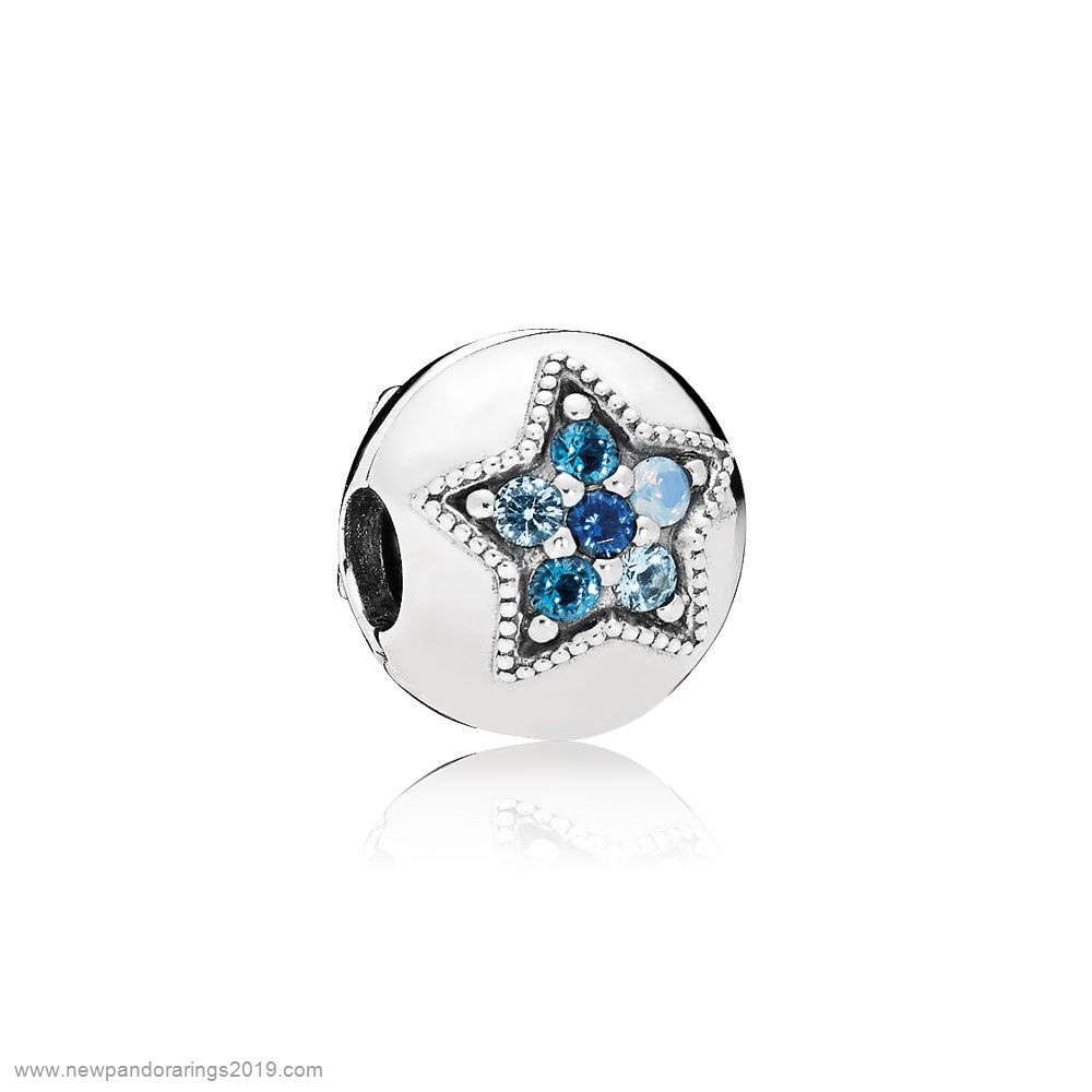Pandora Store Website Pandora Clips Charms Bright Star Clip Multi Colored Crystals