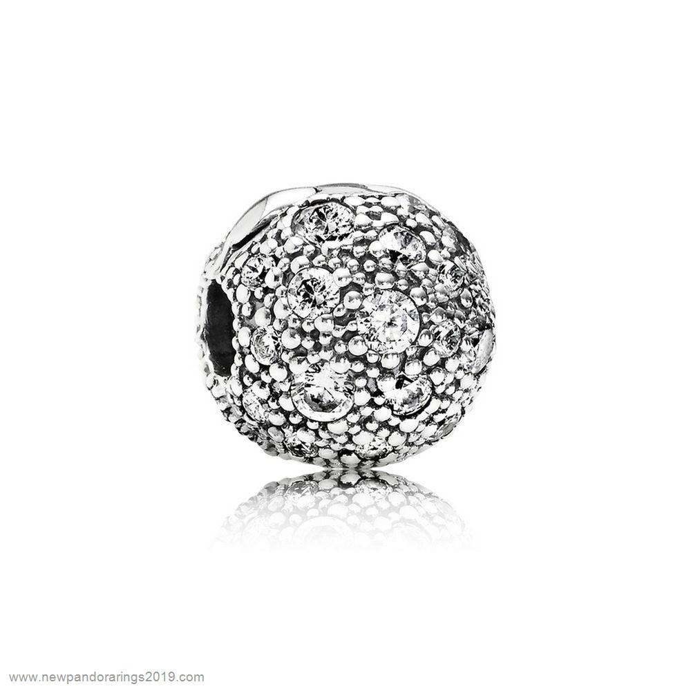 Pandora Store Website Pandora Clips Charms Cosmic Stars Clip Clear Cz
