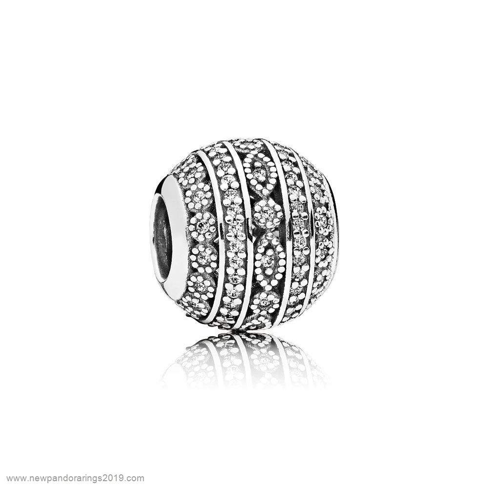 Pandora Store Website Pandora Contemporary Charms Glittering Shapes Charm Clear Cz