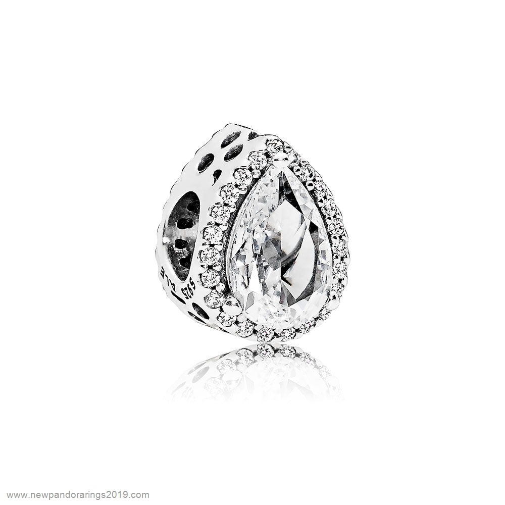 Pandora Store Website Pandora Contemporary Charms Radiant Teardrop Charm Clear Cz