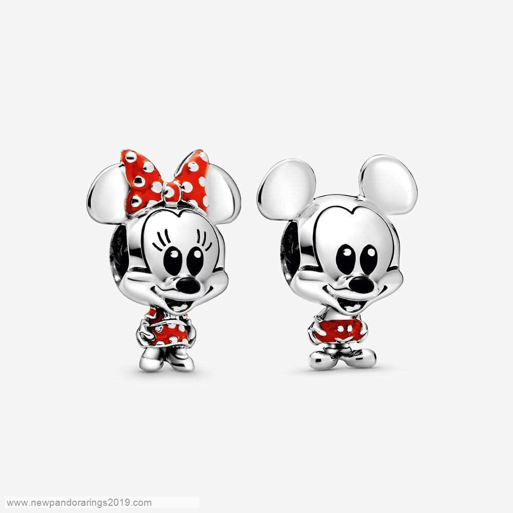 Pandora Store Website Disney Mickey And Minnie Mouse Charm Set