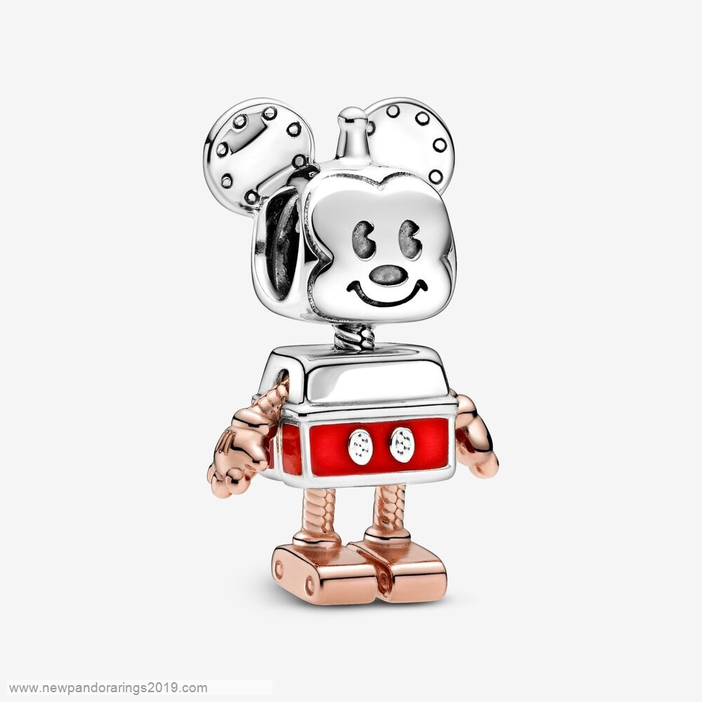 Pandora Store Website Limited Edition Disney Mickey Mouse Robot Charm