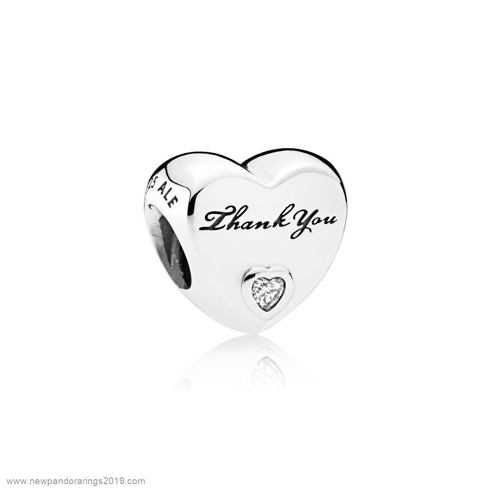 Pandora Store Website Pandora Family Charms Thank You Clear Cz