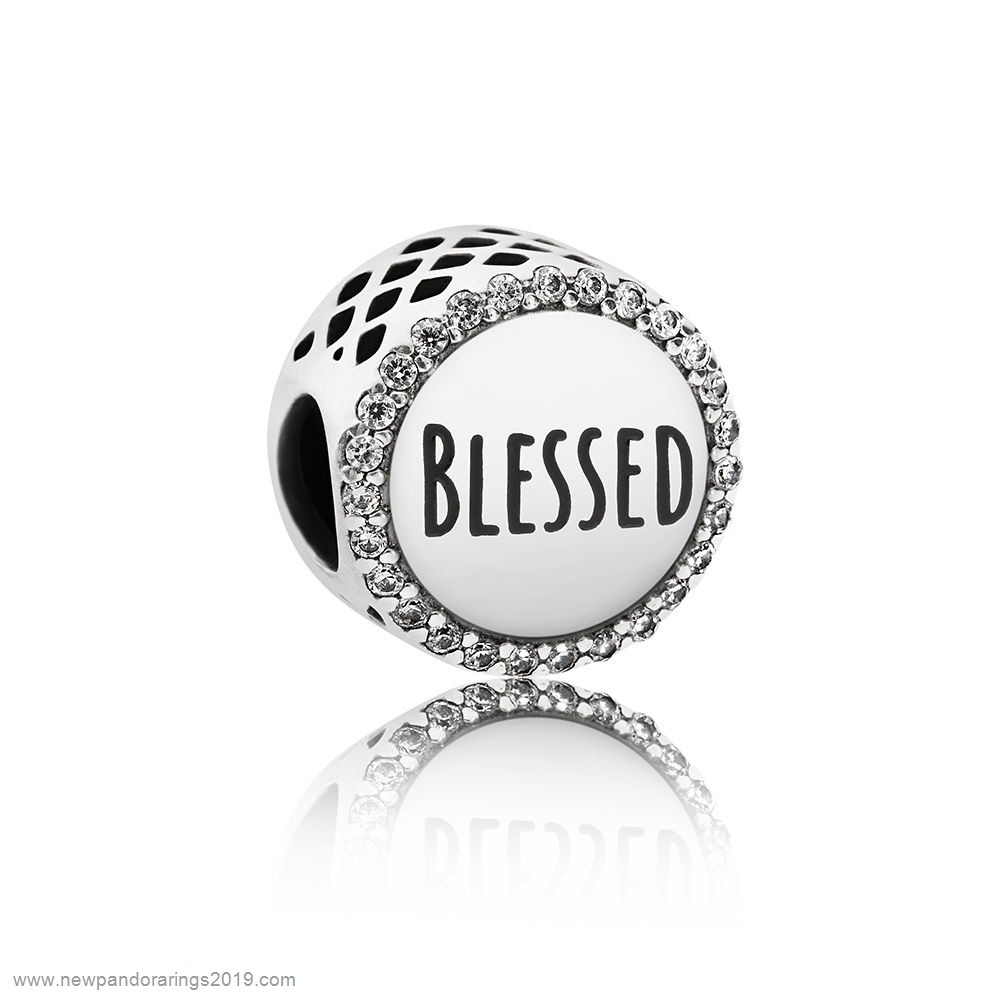 Pandora Store Website Pandora Inspirational Charms Blessed Charm Clear Cz