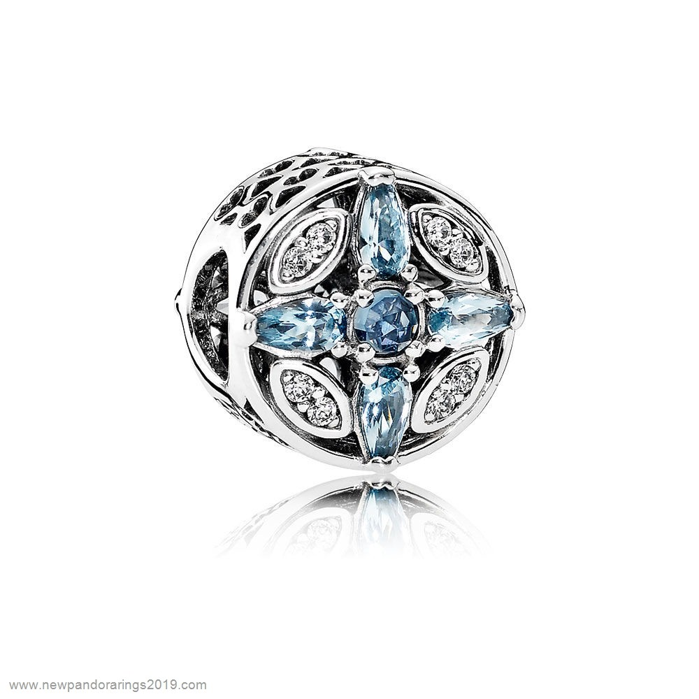 Pandora Store Website Pandora Nature Charms Patterns Of Frost Charm Multi Colored Crystal Clear Cz