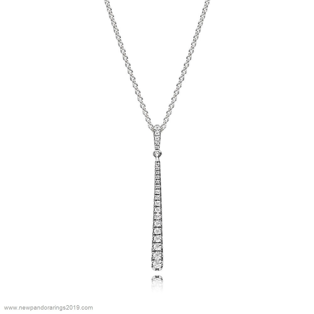 Pandora Store Website Pandora Chains With Pendant Shooting Star Necklace Clear Cz