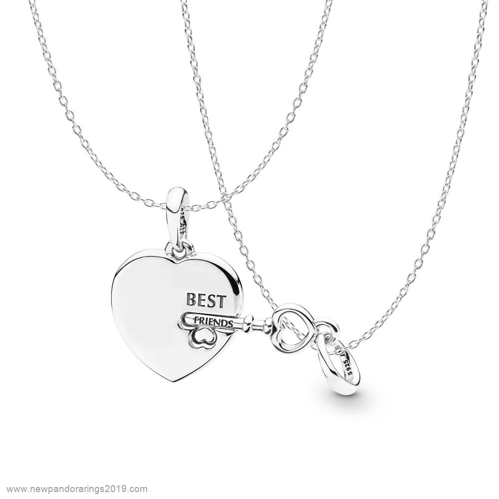 Pandora Store Website Best Friends Forever Necklace Gift Set