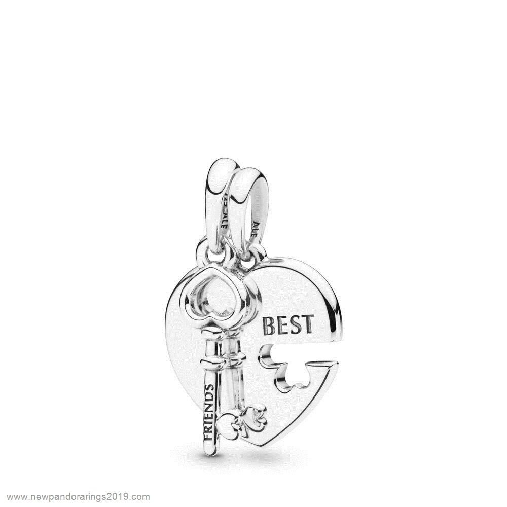 Pandora Store Website Heart And Key Necklace Pendant