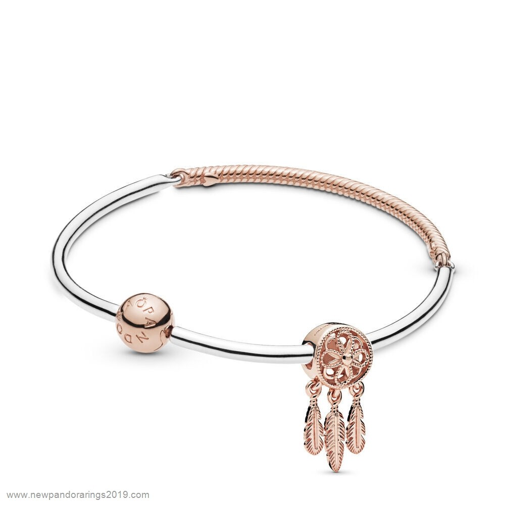 Pandora Store Website Spiritual Dreamcatcher Bracelet Set