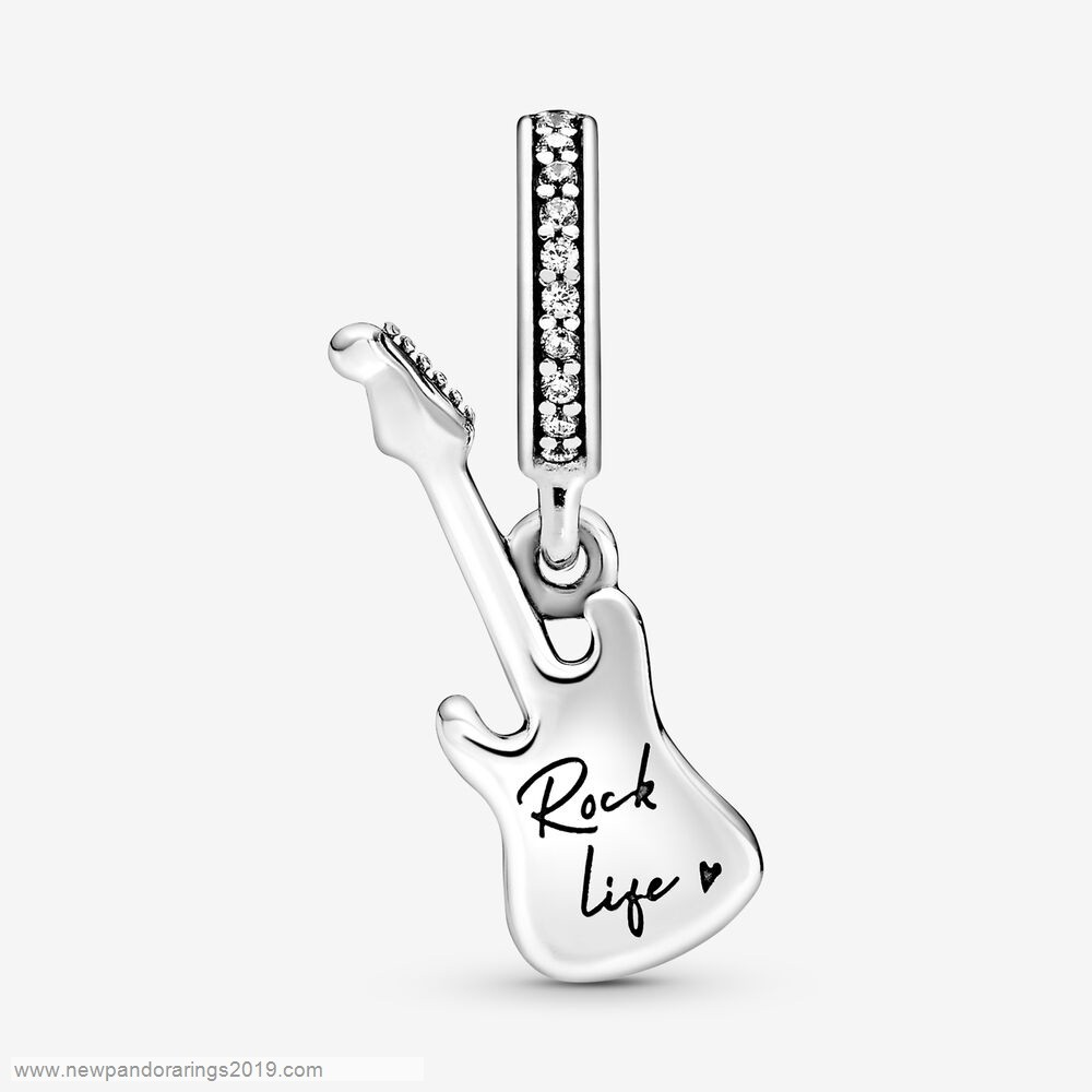 Pandora Store Website Electric Guitar Dangle Charm