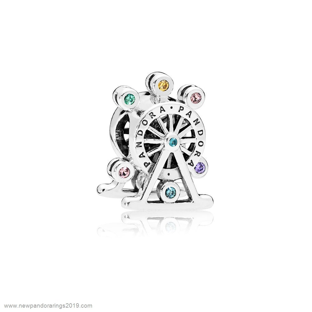 Pandora Store Website Ferris Wheel Charm Multi Colored Crystal