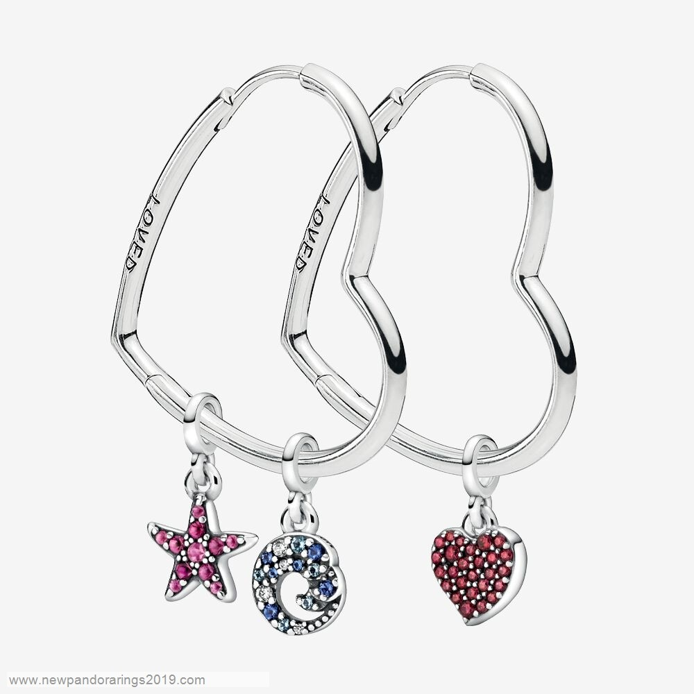 Pandora Store Website Symbols Of You Earring & Charms Set