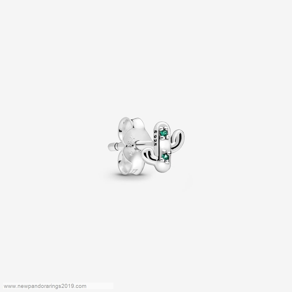 Pandora Store Website My Lovely Cactus Single Stud Earring