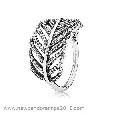 Pandora Store Website Pandora Rings Light As A Feather Ring Clear Cz